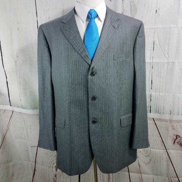 Jones New York Other - Jones New York Collection Gray Striped Suit Blazer